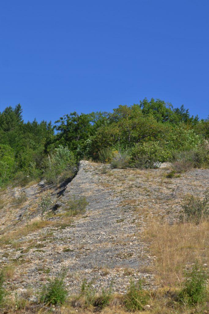 Rencurel - Falaise fossile de l'Espace naturel sensible