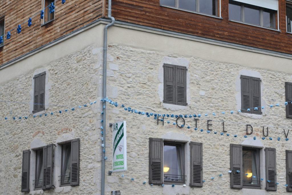 Saint-Martin. Fête du Bleu 2019. L'hôtel du Vercors.