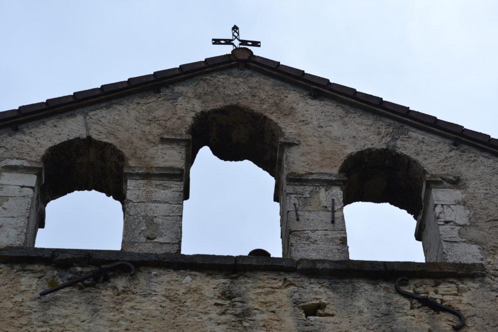 Saint-Martin. Clocher de l'église.